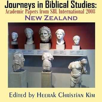 Amazon com: Journeys in Biblical Studies: Academic Papers