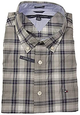 Tommy Hilfiger Men's Classic Fit Button Down Long Sleeve Shirt
