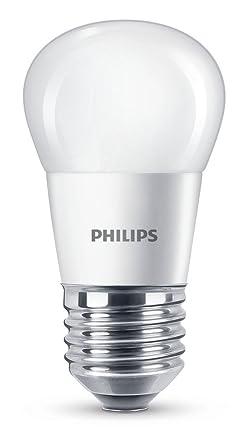 Philips bombilla LED esférica, 5,5 W equivalentes a 40 W, en incandescencia