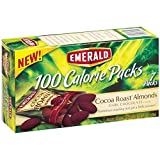 Emerald Cocoa Roast Almonds,100 Calorie Packs (.63 oz. pks., 84 ct. )- Pack of 2 - (Original from manufacturer - Bulk Discount available)