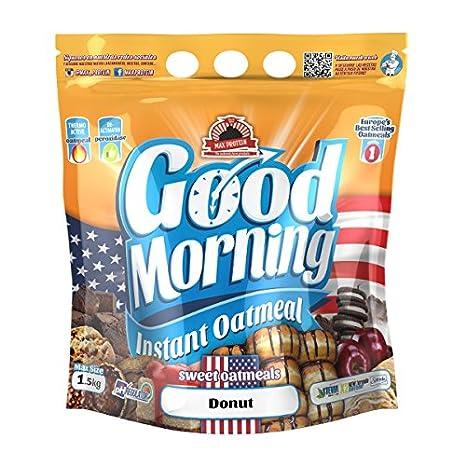 Max Protein - Good Morning Instant Oatmeal, Harina de avena, 1,5kg Red Velvet: Amazon.es: Salud y cuidado personal