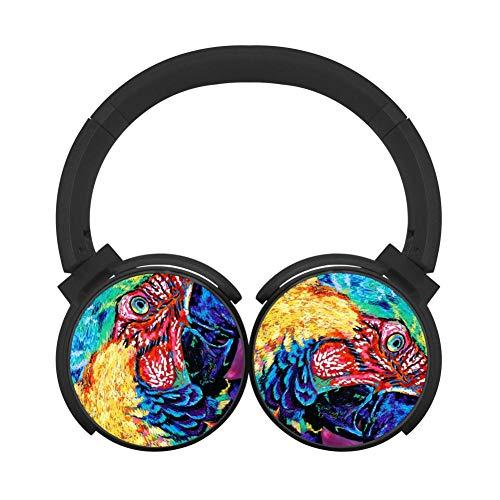 - BLTHFun Bluetooth Headset Headphone Wireless Rainbow Parrot 3D Printed Noise-canceling Earphone