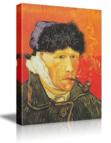 Portrait With Bandaged Ear by Vincent Van Gogh Oil Painting Reproduction