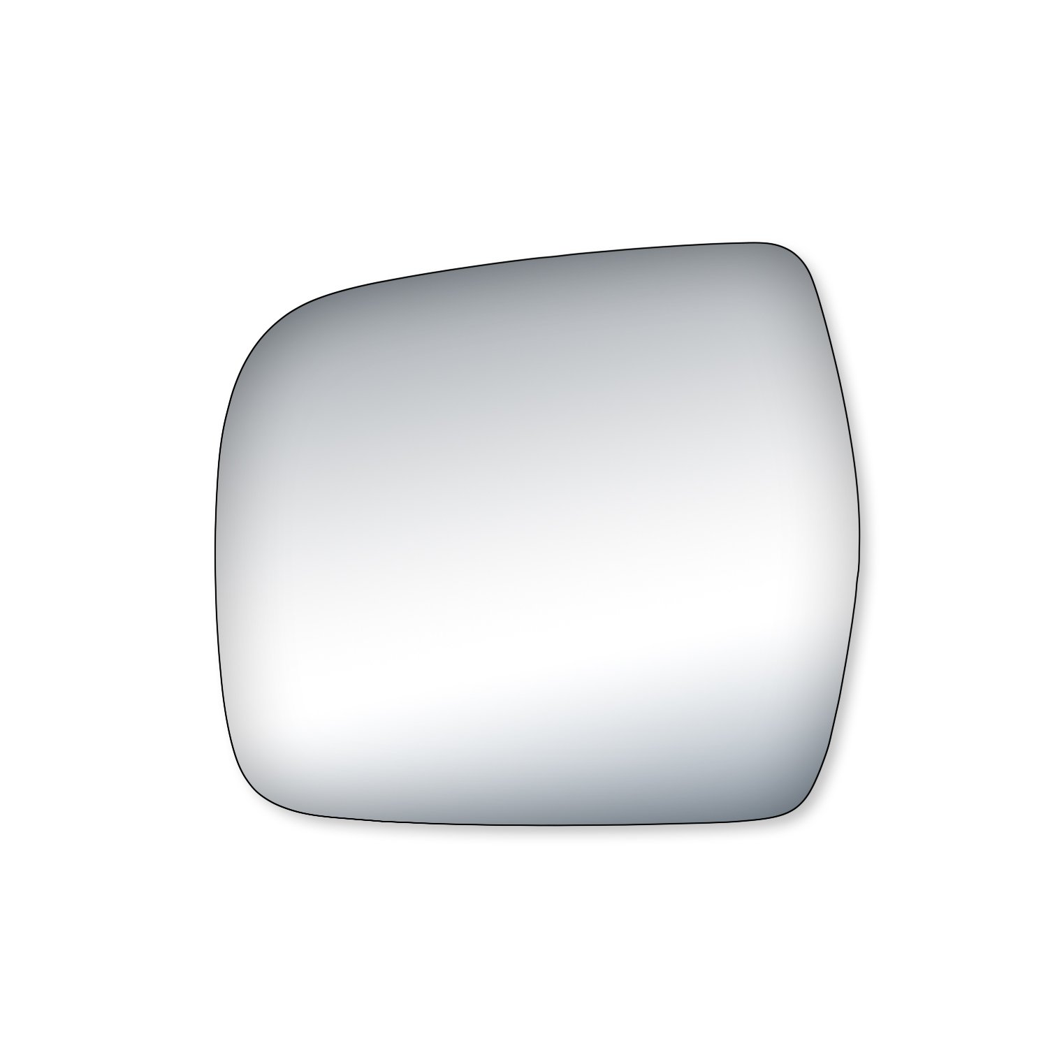 Fit System 99153 Toyota T100 Driver//Passenger Side Replacement Mirror Glass