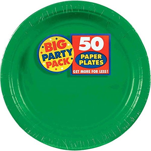 green birthday party supplies - 7