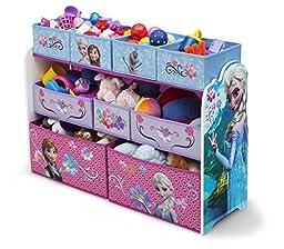 Frozen Deluxe 9 Bin Toy Organizer