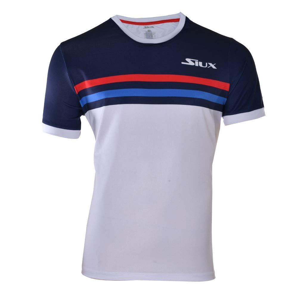Siux Camiseta Luxury Marino Blanco: Amazon.es: Deportes y aire libre