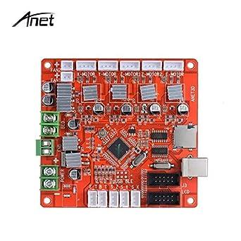 AiCheaX Anet Upgrade - Placa base de control para Anet A8 A6 ...
