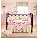 Banana Fish Love Bird 4 pc Crib Set