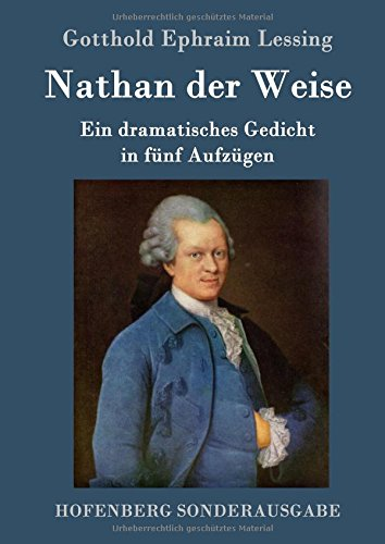 Nathan der Weise  [Gotthold Ephraim Lessing] (Tapa Dura)
