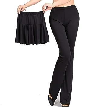 XXPF Pantalones Traje de Baile Falda de Baile Pantalones ...
