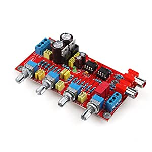 DIY Digital AMP Board 2-Channel 2.0 2*90W TA2022 + NE5532 Deluxe Amplifier Board