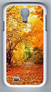 Falling Like PC Hard Case Cover For Samsung Galaxy S4 SIV I9500 Case and Cover White