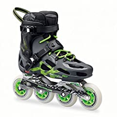 The Rollerblade Maxxum 90 Urban Inline Skates combine a fusion of superior lateral support, comfortable padded liners, and a versatile wheel setup that can be used for commuting, cruising, or training. The vented, molded hard shell provides p...
