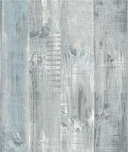 Grace & Gardenia G58305 Gray Weatherd Plank wallpaper