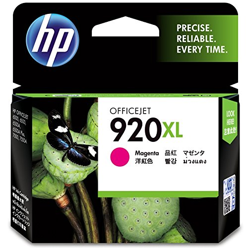 HP OfficeJet 920XL High Yield Original Ink Cartridge  Magenta