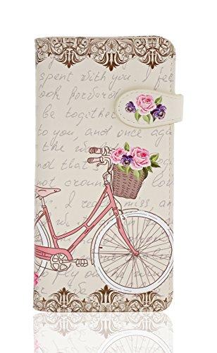 Bicycle Wallet (Paris Bike Beige)