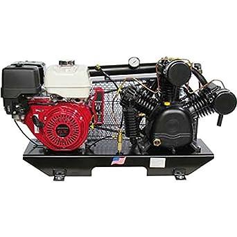 Puma calentador de camión de 2 compresores de aire tuk-130hge (pantalla plana Compresor De Aire, 13HP Honda GX motores con arranque eléctrico: Amazon.es: ...