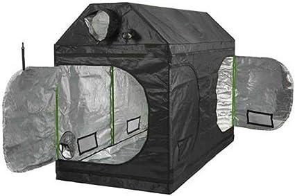 Hydroponics Attic Loft Grow Roof Tent Indoor Growing Silver Mylar 600w