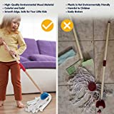 AOKESI Kids Cleaning Set 7 Piece - Wooden