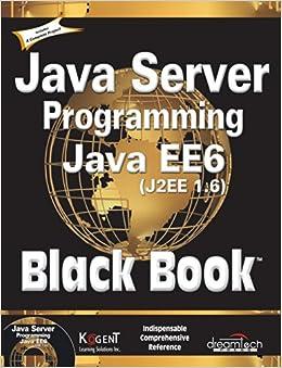 Java Server Programming Java EE6 (J2EE 1.6) Black Book price comparison at Flipkart, Amazon, Crossword, Uread, Bookadda, Landmark, Homeshop18