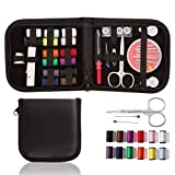TraderPlus Mini Sewing Kit Set with Mending, Sewing Needles, Scissors, Thimble, Thread, Tape Measure for Home, Travel, Camping & Emergency