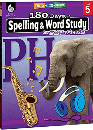 Amazon com: 180 Days of Spelling and Word Study: Grade 5