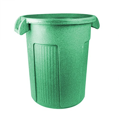 55 Gallon Receptacle (UltraSource Commercial Atlas Waste Container, 44 gal, Green)