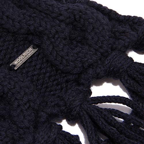 Blu Scarf Sciarpa Woolrich Donna Woman 1065w Blue Wool Cx087wFUq