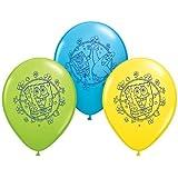 "Pioneer National Latex Sponge Bob Square Pants 12"" Latex Balloons, 6 Count"