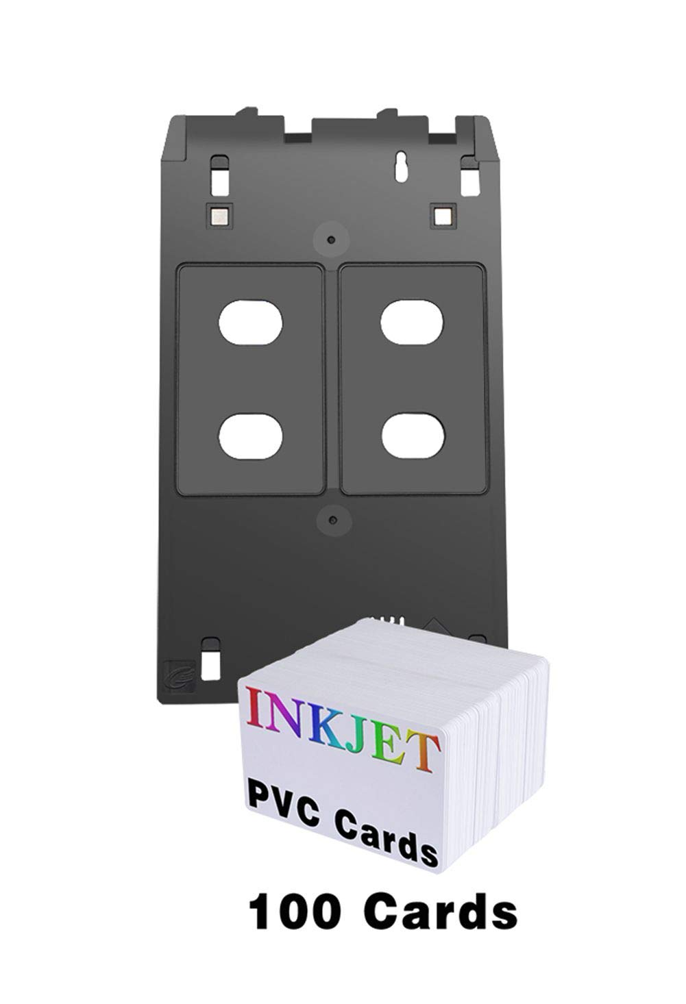 Gen's Inkjet PVC Card Tray for Canon J Tray Printers- Canon IP5400 IP7120 IP7130 IP7230 IP7240 IP7250 Mg5420 Mg5430 Mg5450 Mg5550 Mg6320 Mg6330 Mg6350 Mg6450 Mg6530 Mg7120 Mg7130 and More by GEN (Image #1)