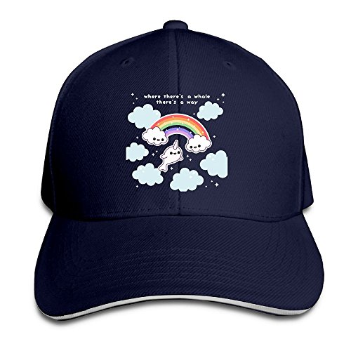 Cutadorns Rainbow Whale Outdoor Sandwich Cap (Wholesale Halloween Costumes Coupon)