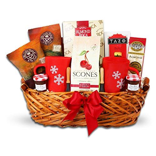 Good Morning Breakfast Gift Basket (Cookie Snowflake Basket)