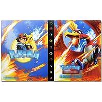 Pokemon Trading card Album, Pokemon cards holder, Pokemon binder for cards Album Book Best Protection for Pokemon Trading Cards