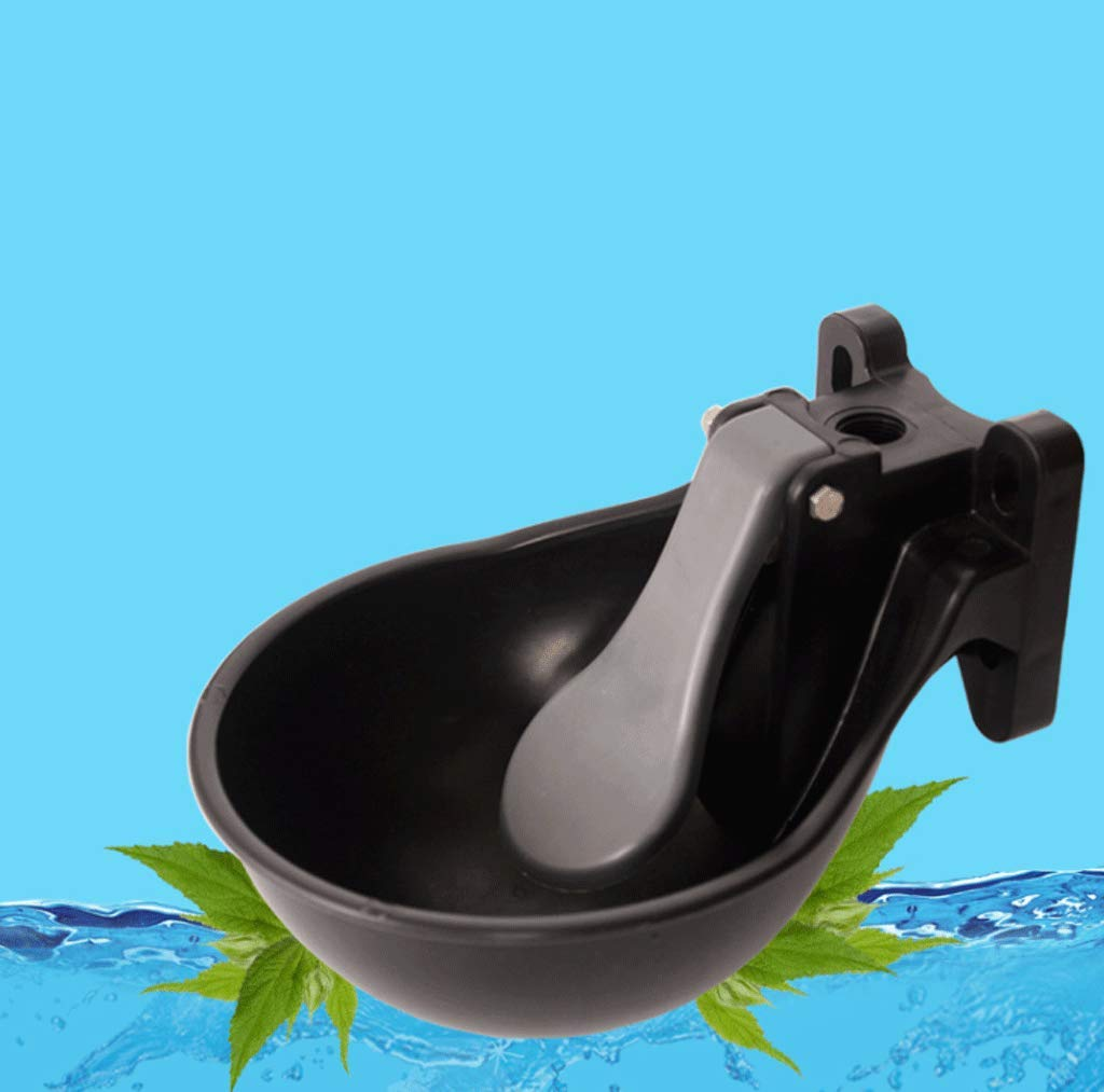 DYV 1.6l Plastic Animal Water Drinking Bowl Automatic Waterer Livestock Tools Durable and It Wont Rust for Cattle Horses Pigs