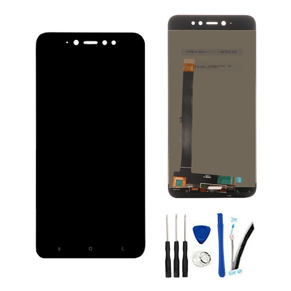 Full LCD Display With digitizer touch screen For Xiaomi Redmi Note 5A  Standard Edition (2GB RAM)/Redmi Y1 Lite Assembly replacement white