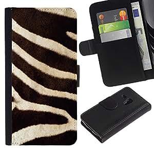 iBinBang / Flip Funda de Cuero Case Cover - Patrón de la naturaleza animal de África - Samsung Galaxy S3 MINI NOT REGULAR! I8190 I8190N