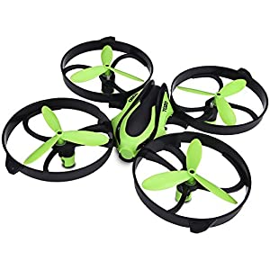 TOZO Q2020 Drone RC Mini Quadcopter Altitude Hold Height Headless RTF 3D 6-Axis Gyro 4CH 2.4Ghz Helicopter Steady Super Easy Fly for Training [Green]