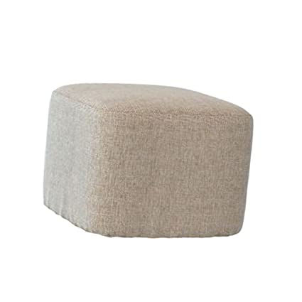 Wondrous Linen Cotton Ottoman Cover Square Stool Covers Slipcover For Footstool Decor 8 Colors Choice Light Gray Caraccident5 Cool Chair Designs And Ideas Caraccident5Info