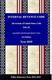 The Internal Revenue Code (IRC) also known as Title 26 of the United States Code  is organized topically, into subtitles and sections, covering income tax (see Income tax in the United States), payroll taxes, estate taxes, gift taxes, and excise taxe...
