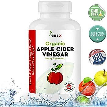 Amazon.com: USDA Organic Apple Cider Vinegar Pills 800MG