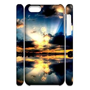 ALICASE Diy Customized hard Case Starfish For Iphone 4/4s [Pattern-1]