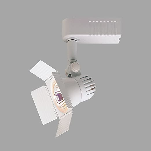 best service 13307 340e7 Nora Track Light NTL-208W - White - Barndoor - Operates 20 ...