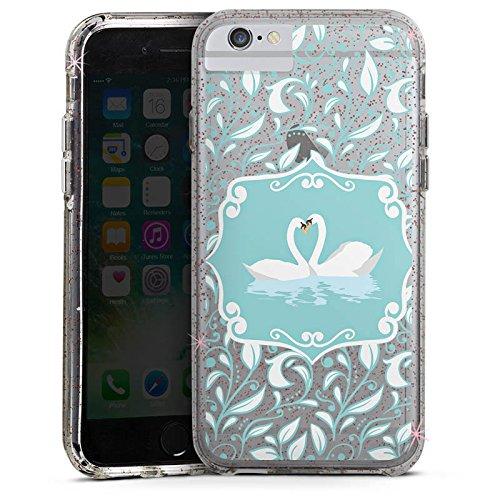 Apple iPhone 6s Plus Bumper Hülle Bumper Case Glitzer Hülle Love ohne Hintergrund Wasn