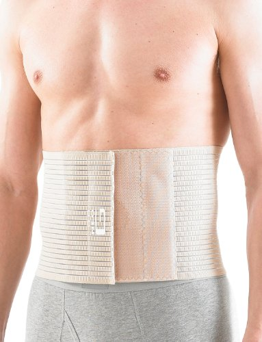 NEO G Upper Abdominal Hernia Support - XX-LARGE - Beige - Medical Grade Quality, breathable & adjustable, pre/post-surgery aid HELPS reduce symptoms of overstrain & exertion, abdominal hernias -Unisex by Neo-G (Image #5)