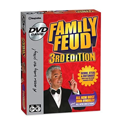 Family Feud DVD Game: Toys & Games