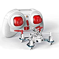Hubsan H111 Q4 Mini Nano RC Quadcopter Drone World Smallest RTF Mode 2 White