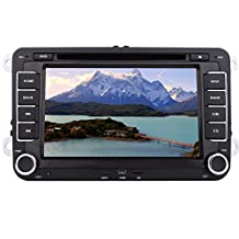 """Newest 2016 7""""In Dash Car Video Stereo Touch Screen Two-din Car DVD Player Bluetooth FM/AM Radio ipod Steering wheel GPS Navigation Player FOR Volkswagen/New Magotan/Sagitar/ Golf/ Bora/Touran/ Jetta/New Santana(2013) +CANBUS"""
