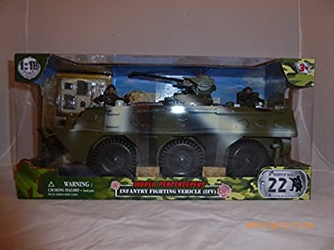 World Peacekeepers Power Team Elite Infantry Fighting Vehicle (IFV) with Action Figures (Military Vehicles 1 18)