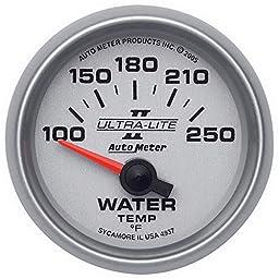 Auto Meter 4937 Ultra-Lite II Electric Water Temperature Gauge